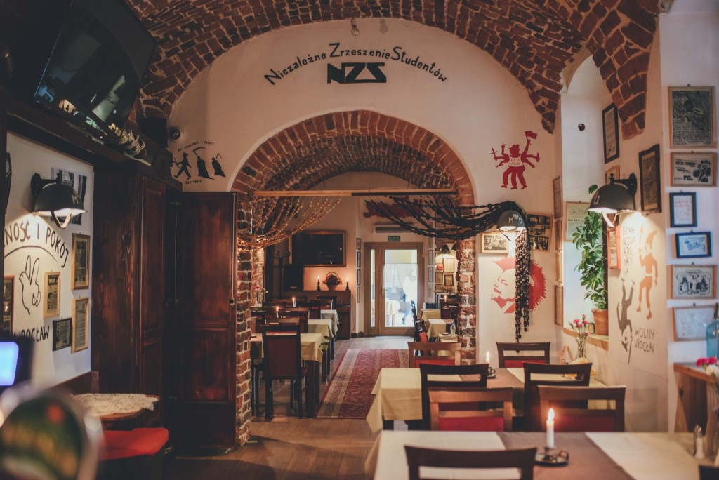 Restauracja Konspira Najlepsza Restauracja Wrocław